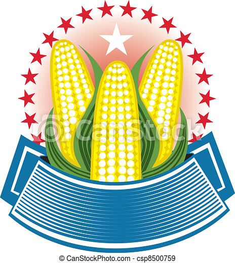 Corn Ear Emblem - csp8500759