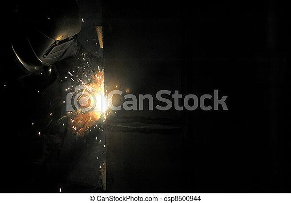 welding with mig-mag method - csp8500944