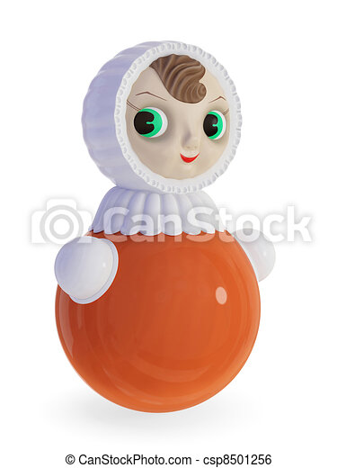 Roly-poly doll. - csp8501256