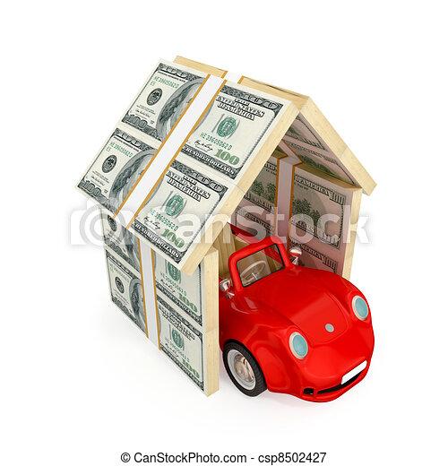 Insurance concept. - csp8502427