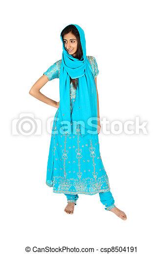 East Indian teen - csp8504191