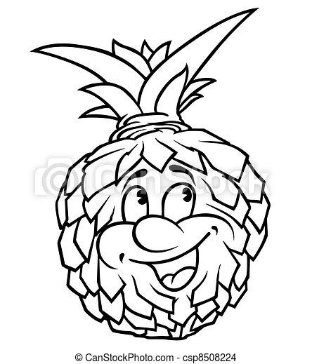 Pineapple - csp8508224