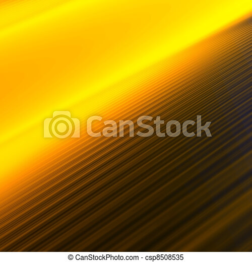 Parallel orange-yellow lines leaving in a distance and creating perspective - csp8508535