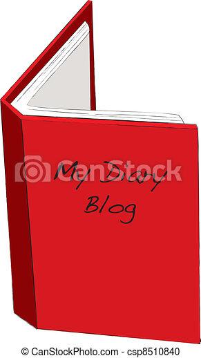 My Diary Blog - csp8510840