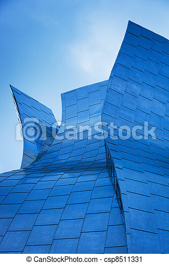 Abstract Detail of Modern Urban Architecture - csp8511331
