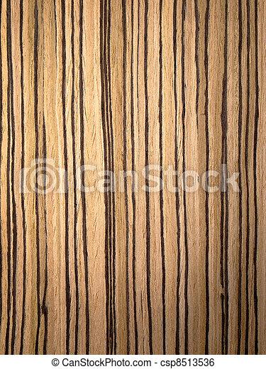 Stock Beeld van zebrano, hout, textuur - textuur, van ...