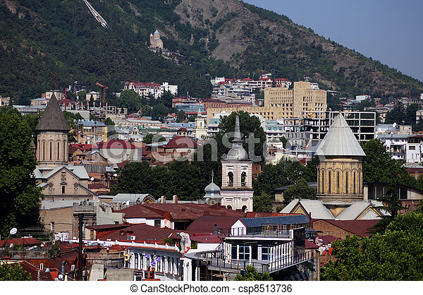 Tbilisi churches - csp8513736
