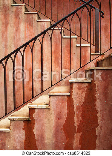 red stair - csp8514323
