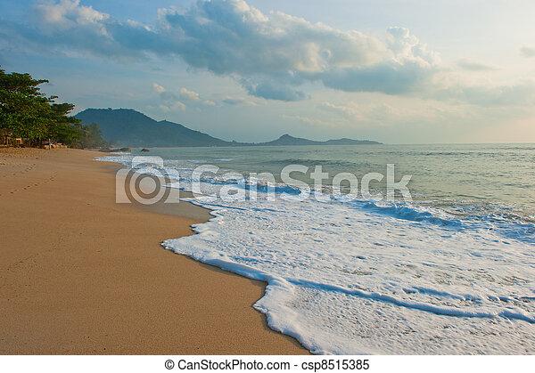 Lamai Beach, Koh Samui, Thailand - csp8515385