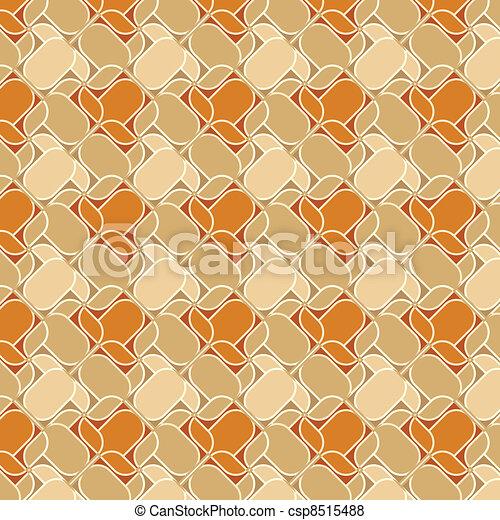 abstract floral ornament decorative backdrop - csp8515488