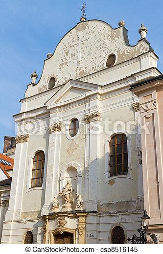 Franciscan Church, Bratislava, Slovakia - csp8516145