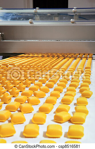 Production of biscuits - csp8516581