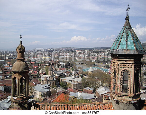 Tbilisi churches - csp8517671