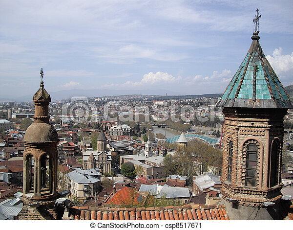 Tbilisi churches - csp8517671