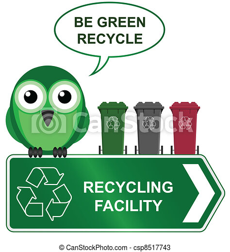 Cool Recycling Drawings Recycling Sign Csp8517743