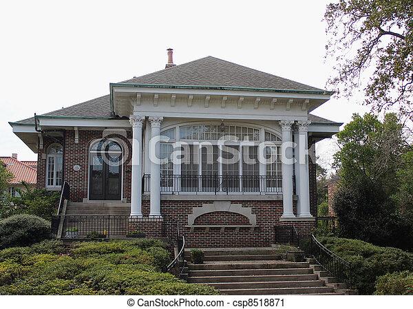 Garden District home, New Orleans, Louisiana - csp8518871