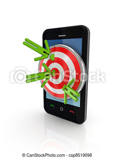Target audience concepte. - csp8519098