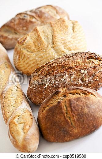 Various breads - csp8519580