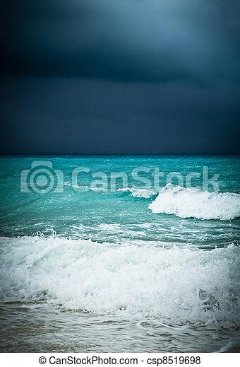 Bad weather seascape