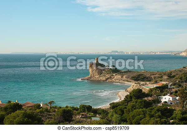 Alicante coastline - csp8519709