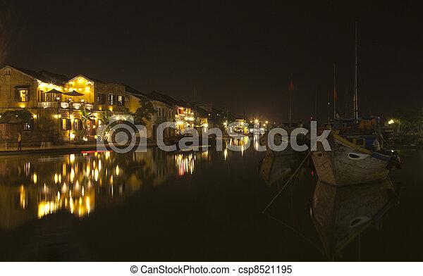 Hoi An at night - csp8521195
