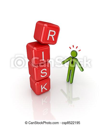 Risk concept. - csp8522195
