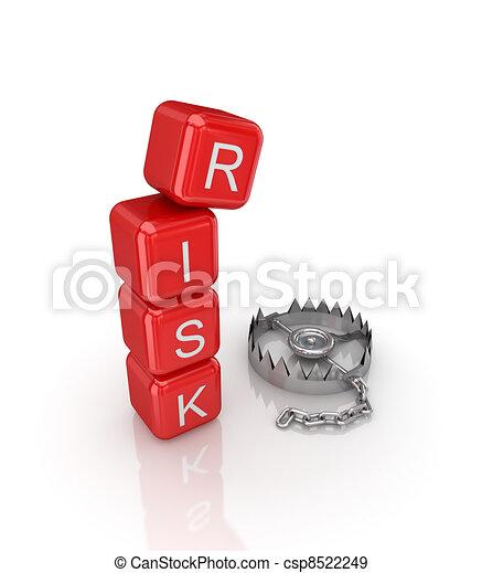 Risk concept. - csp8522249