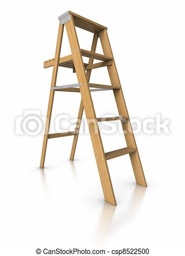 3D Step ladder. - csp8522500