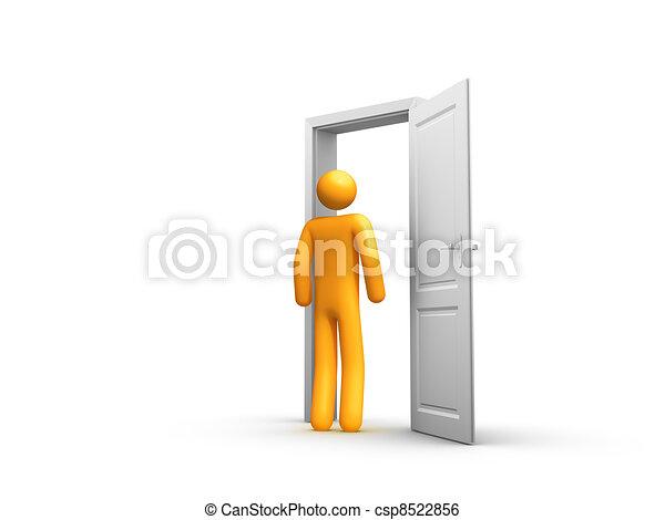Entrance - csp8522856