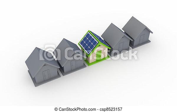 Solar energy concept. - csp8523157