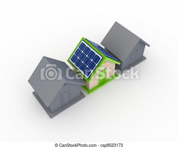 Solar energy concept. - csp8523173