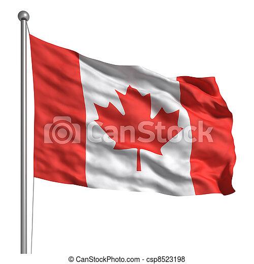 Flag of Canada - csp8523198