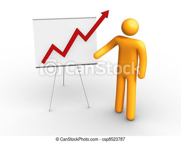 Graph Chart - csp8523787