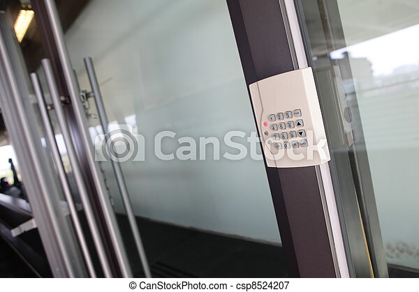 Modern Door with safety door combination - csp8524207