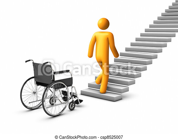 wheelchair Concept - csp8525007