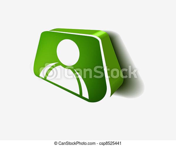 user web icon - csp8525441