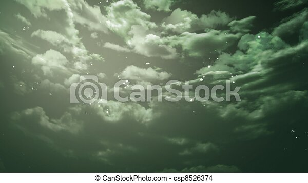 the beauty night sky with star background - csp8526374
