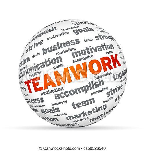 Teamwork Sphere - csp8526540