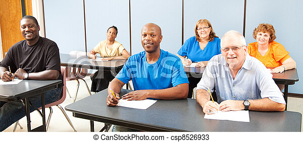 Diversity in Adult Education - Banner - csp8526933