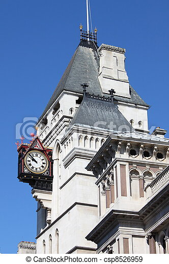 Clock at Royal Court of Justice - csp8526959