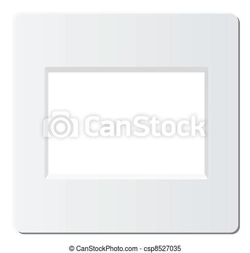 slide photo frame - csp8527035