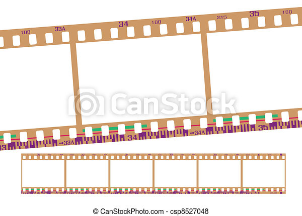 film strip, negative - csp8527048