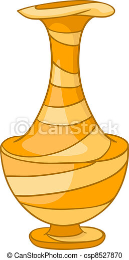Cartoon Home Vase - csp8527870