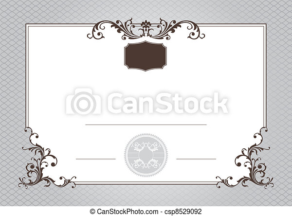 certificate of achievement - csp8529092