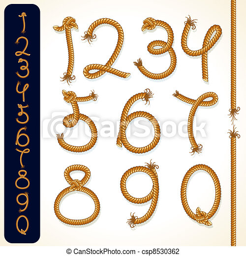 Rope Numbers - csp8530362
