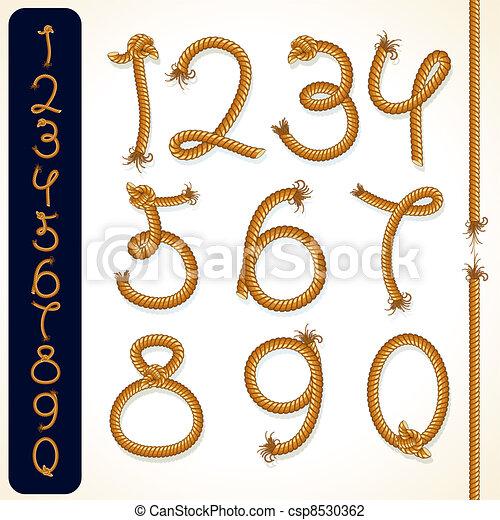 Rope Numbers - csp8530362
