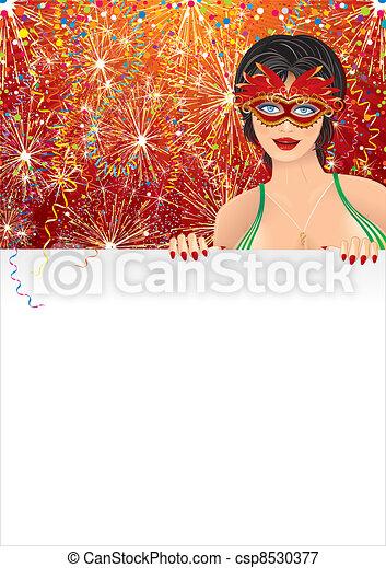 Carnival Girl - csp8530377