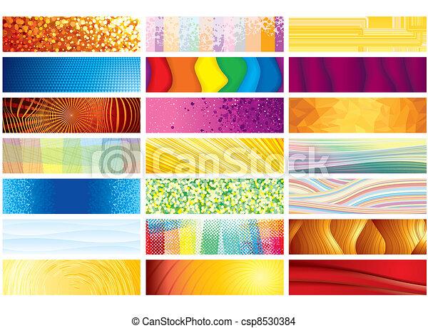 Horizontal Banners - csp8530384