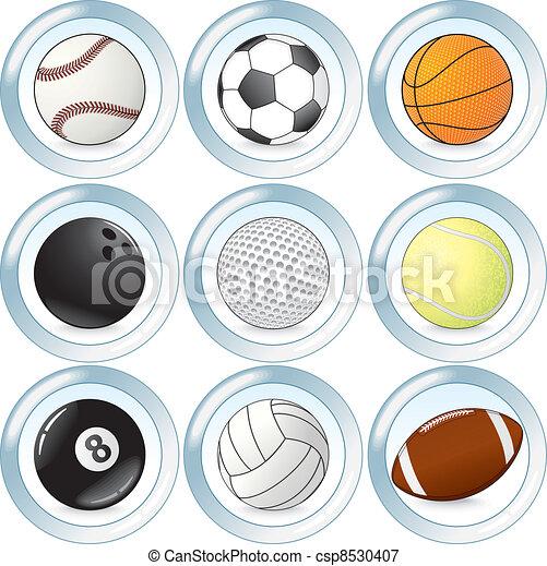 Sport Balls Set - csp8530407