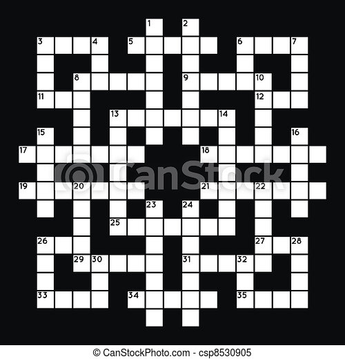 Crossword Clipart And Stock Illustrations. 10,116 Crossword Vector